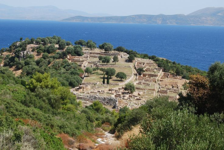 Thursday, July 15: Rhamnous, an ancient fort of Greece in Attica.