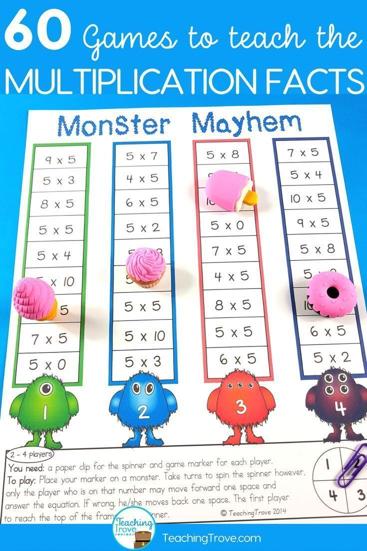 Best 25 multiplication tables ideas on pinterest multiplication multiplication games for each multiplication fact 60 games gamestrikefo Choice Image