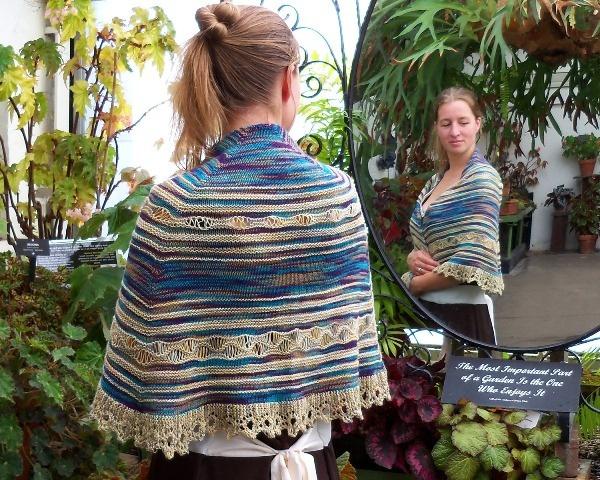 drapped shawl by BeckyinVT, via Flickr