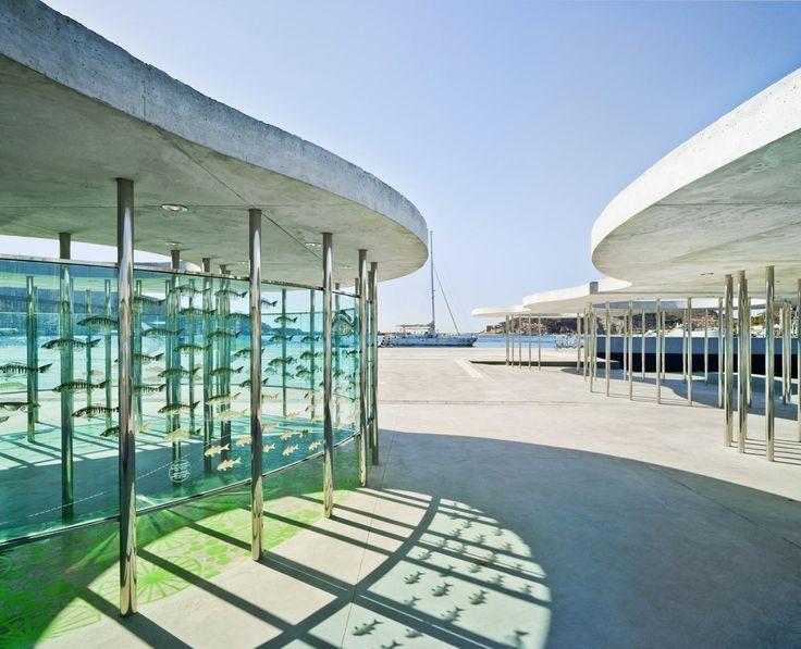 martín lejarraga arquitecto / urbanización del muelle de la terminal de cruceros, puerto de cartagena