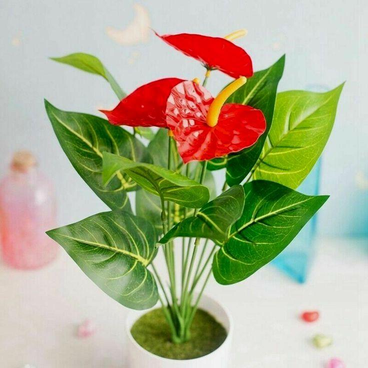 Fake Decorative Plants For Living Room Bush Plant Faux Plants Fake Flowers