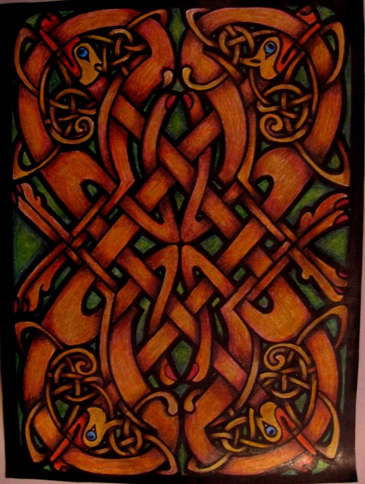49 Best Celtic Stained Glass Images On Pinterest