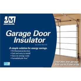@Adam Scheffe Johns Manville�R-8 Garage Door Insulation Panel Kit