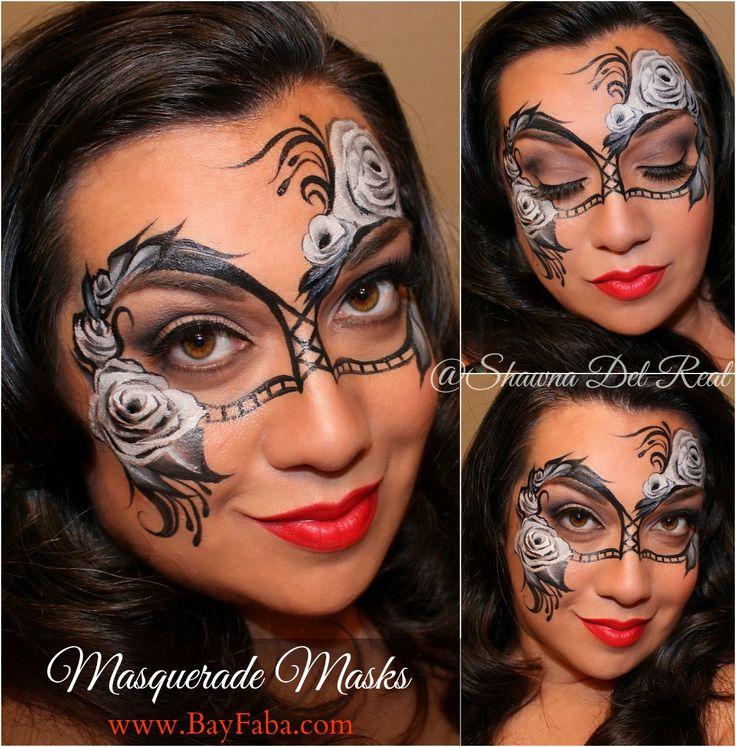 Mask Designs Ideas: 17 Best Images About Face Paint- Tiaras & Mask Ideas On