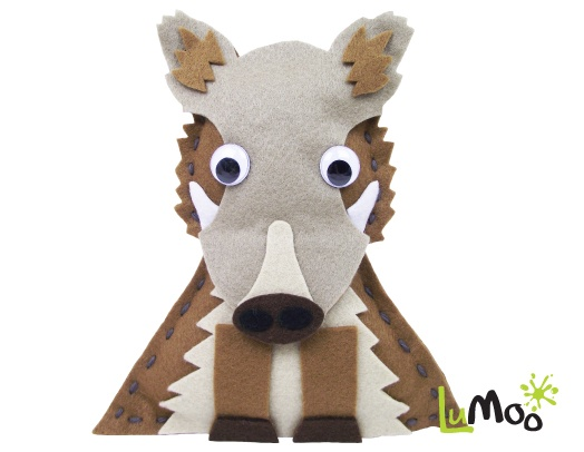 Sew Your Own Hog Friend Kit from LuMoo.