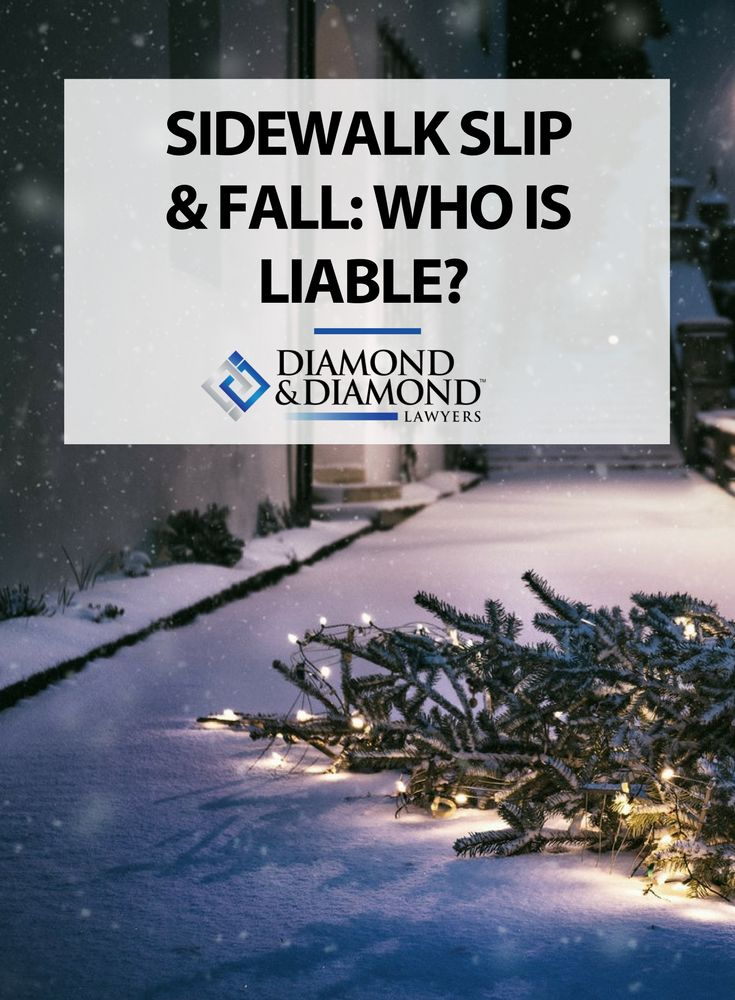 With freezing temperatures, snow and ice are normal parts of winter life in Ontario. Heikki Cox-Kikkajoon outlines property owner and municipal sidewalk slip and fall liability, and the limitations for compensation claims.