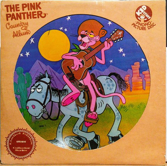 Pink Panther Country Album 12 Picture Disc Limited