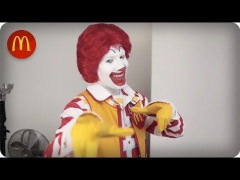 Ronald mcdonald natural redhead