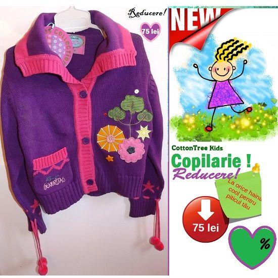 In perioada 1-7 iunie se desfasoara campania Copilarie la cel mai vesele haine de copii din bumbac!