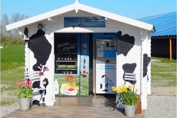 Direktvermarktung Hofeigener Produkte Milchtankstelle Und Regiomat Direktvermarktung Tankstelle Bauernhofstand