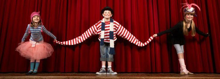Teatro infantil hace referencia a tres tipos de obras en el campo de la dramaturgia: los textos escritos por niños y adolescentes; los escritos para ellos o teatro para niños y los que la tradición literaria ha considerado adecuados para ellos