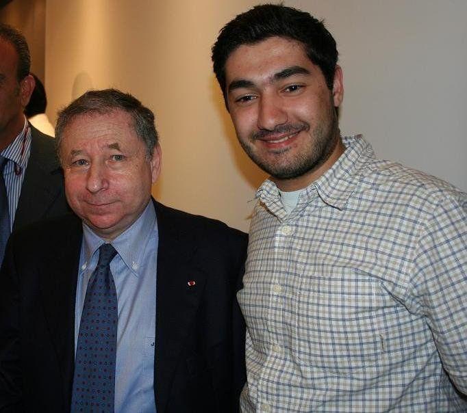 With Jean Todt (Ex-CEO Ferrari Scuderia & FIA President)