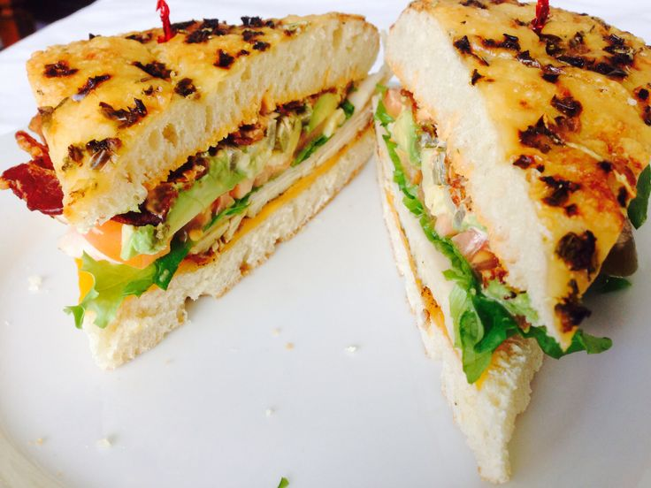 hope you are hungry! This is our turkey, cheddar and, avocado sandwich ...