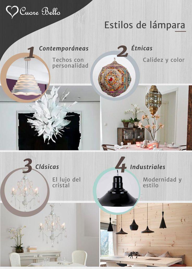 ilumina tu casa tipos de lmparas segn tu estilo decorativo iluminacin decoracin