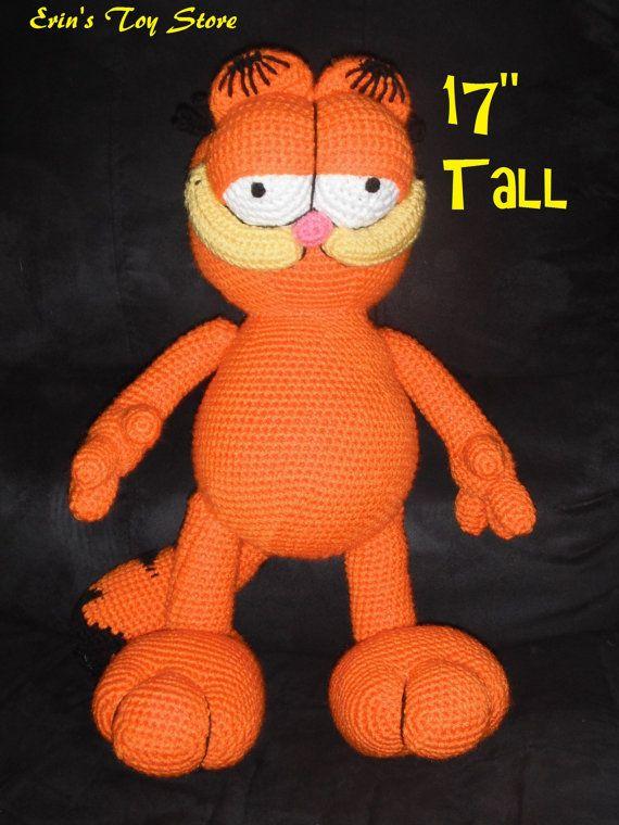 Amigurumi Free Patterns Garfield : 17 Best images about Garfield on Pinterest Cat crochet ...