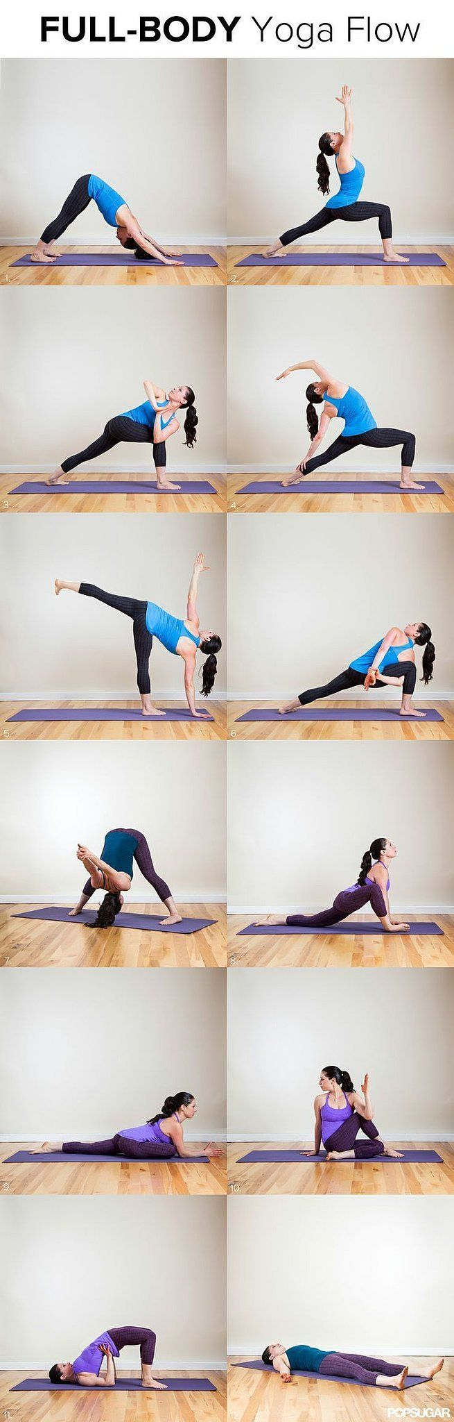 """Day 12 """"Get Fit"""" Resolution: Long and Lean Full-Body Yoga Flow"""