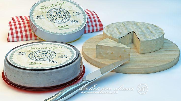 Этикетка: Дизайн этикетки для сыра с защитой от подделки. #Векторная_графика. #Secret_Art_Print.