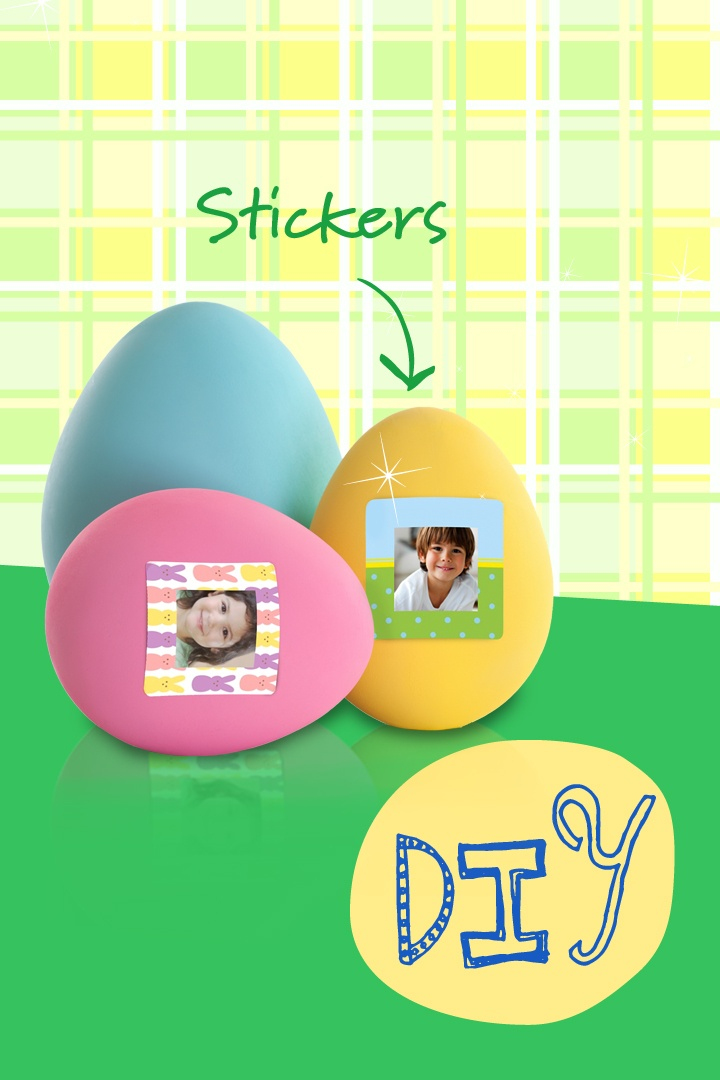 Easter Egg Hunt Stickers