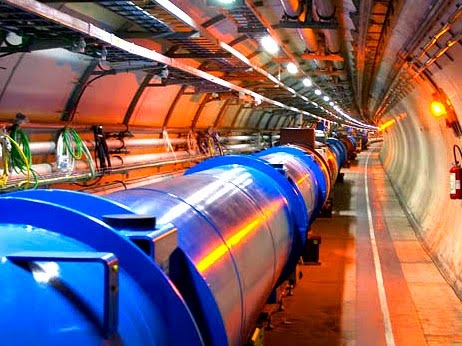 The Large Hadron Collider at CERN near Geneva, in Switzerland