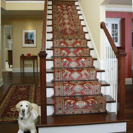 Staircases Featuring Runners And Zoroufy Stair Rods Staircase