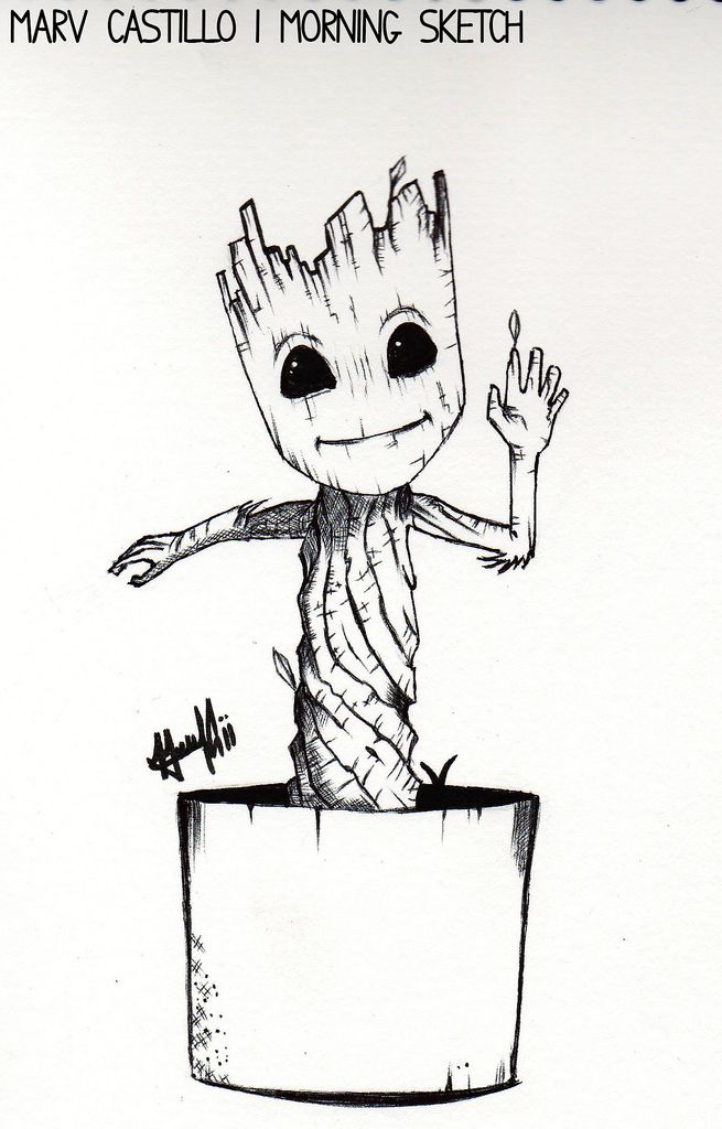 Image Result For Groot Coloring Printables