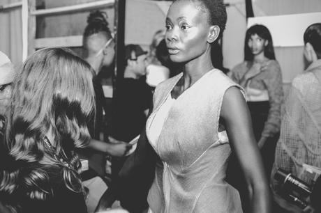 Backstage at LARA KLAWIKOWSKI A/W 2017 Mercedes-Benz Fashion Week Cape Town 2017 | Photography by Jessie De Bruin