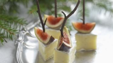 Recipe for Brie with fresh figs