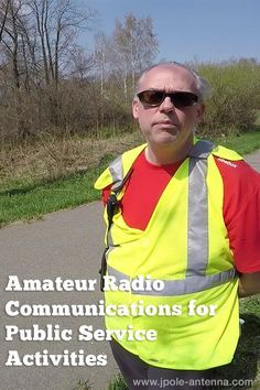 Amateur Radio Communications for public service activities.