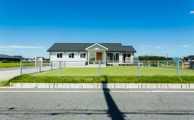 FLAT HOUSE / exterior