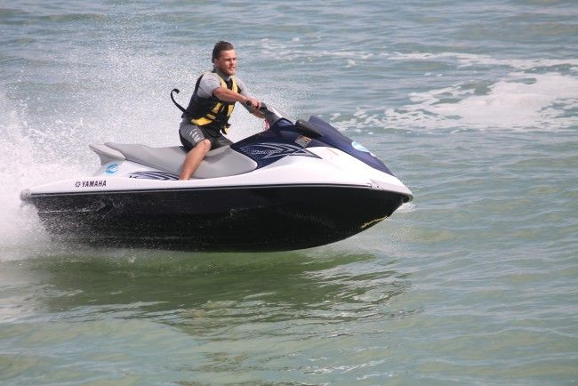 Jet Skiing in Langebaan on the West Coast with Elite Wetbikes. Searching for an adventure? Look no further than our 10 km jetski ride on the beautiful Langebaan Lagoon, one of South Africa's favourite holiday destinations. #dirtyboots #jetski #langebaan #southafrica