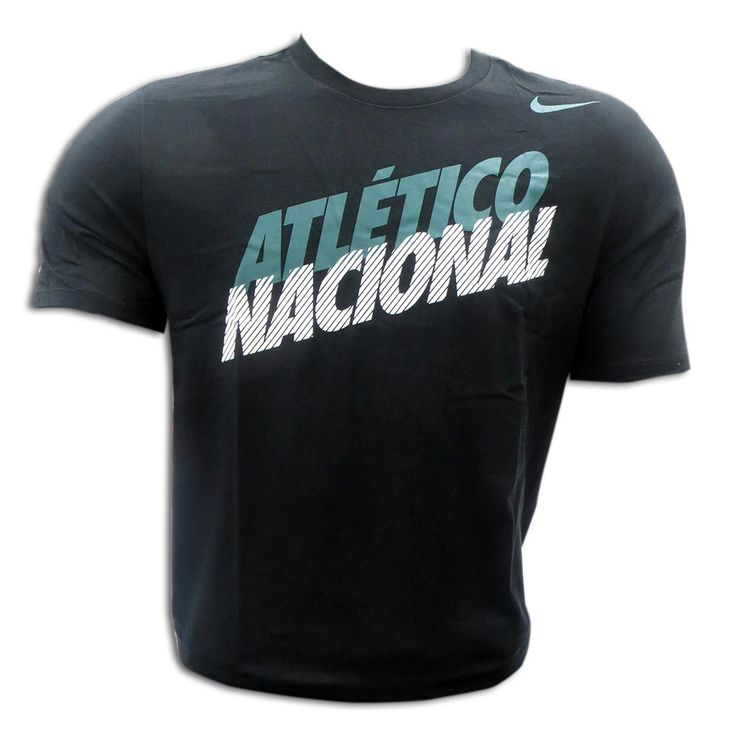 T-Shirt Negra Atletico Nacional Nike 2015: 797855 Atlético Nacional