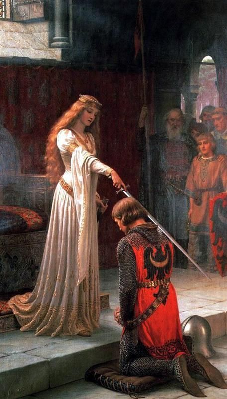 The Accolade by Edmund Blair Leighton :: artmagick.com: Accolad Edmund, Blair Leighton, Beautiful Paintings, Edmund Leighton, Edmund Blair, Artists Imagination, For Raphaelite, Beautiful Art, Bedrooms Wall