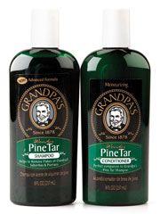 Wonder Pine Tar Shampoo & Conditioner