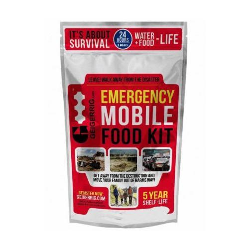 Geigerrig G4 Emergency Mobile Survival Food Kit - Berry Flavor - $22