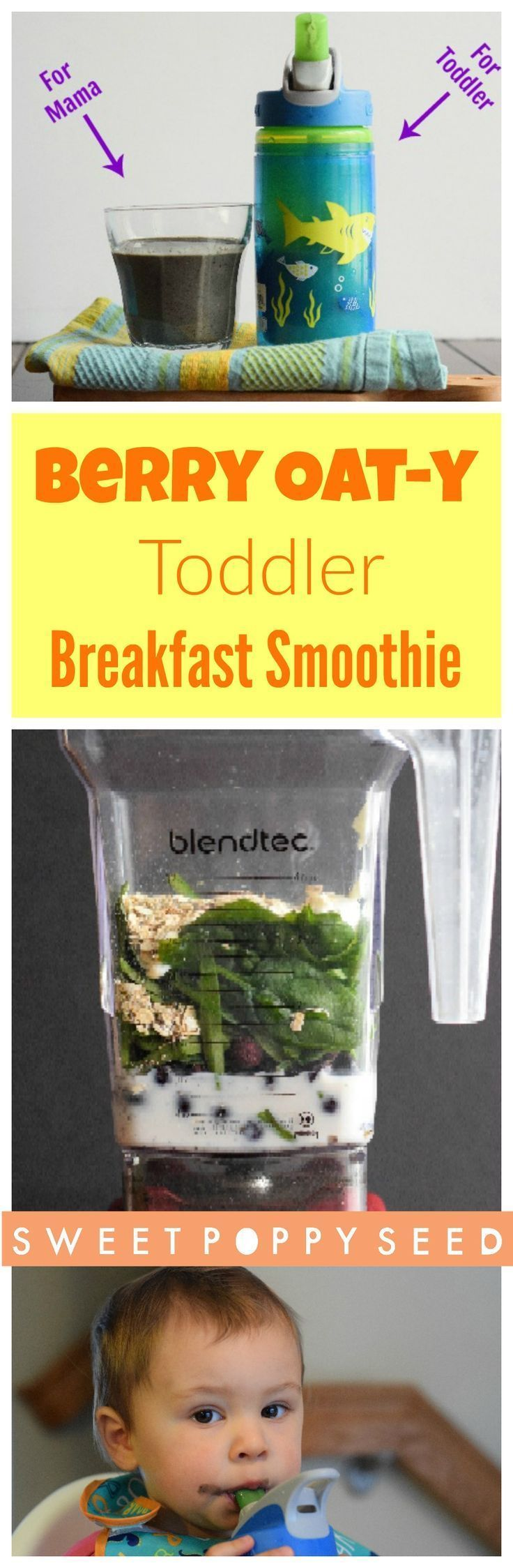 Packed with Spinach, antioxidants, protein, calcium, and fiber! Healthy, delicious and naturally sweetened.