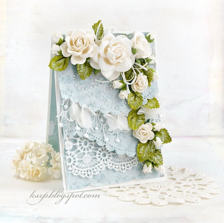 Днем рождения, открытка с орхидеями скрапбукинг