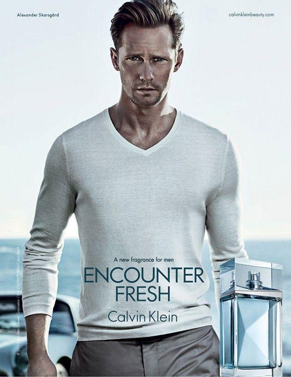 Alexander Skarsgård Fronts Calvin Klein Encounter Fresh Fragrance Campaign