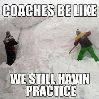 Coaches be like...