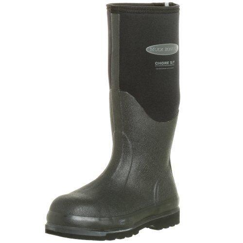 The Original MuckBoots Adult Chore Hi Boot Steel Toe