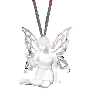 Newbridge Silver Angel Christmas Tree Decoration, omg I just love her