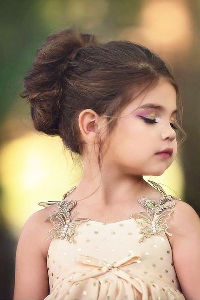 Girls Hairstyles Captivating 49 Best Hairstyle Flower Girl Images On Pinterest  Girls Hairdos