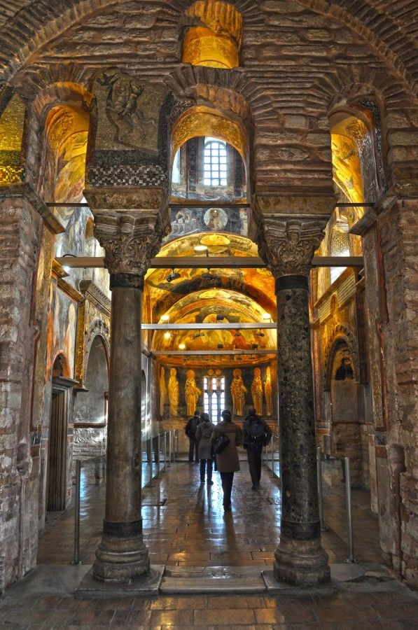 Kariye Müzesi İstanbul - Interior Chora Church today the ...
