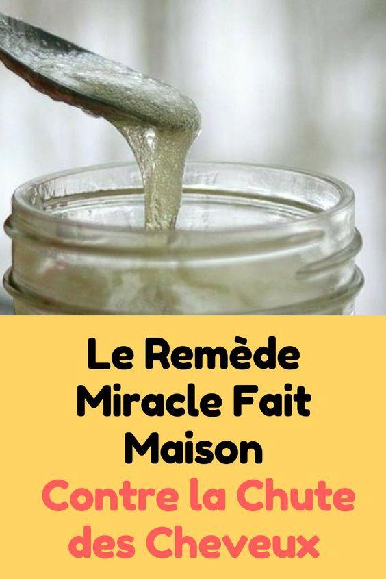 Le Remède Miracle Fait Maison Contre la Chute des Cheveux.