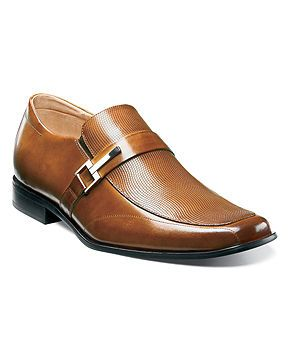 Stacy Adams Shoes, Beau Bit Perforated Slip On Loafers - Mens Stacy Adams - Macy's