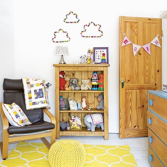 Bring Sunny Cheer To A Children S Bedroom With Bursts Of Vibrant Yellow In Your Accessories
