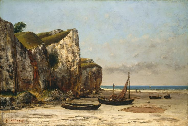Gustave_Courbet_-_Plage_de_Normandie_(National_Gallery_of_Art).jpg (JPEG 画像, 3000x2009 px) - 表示倍率 (48%)