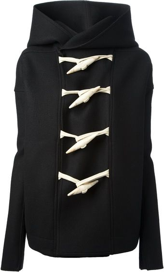 Rick Owens Hooded Toggle Jacket