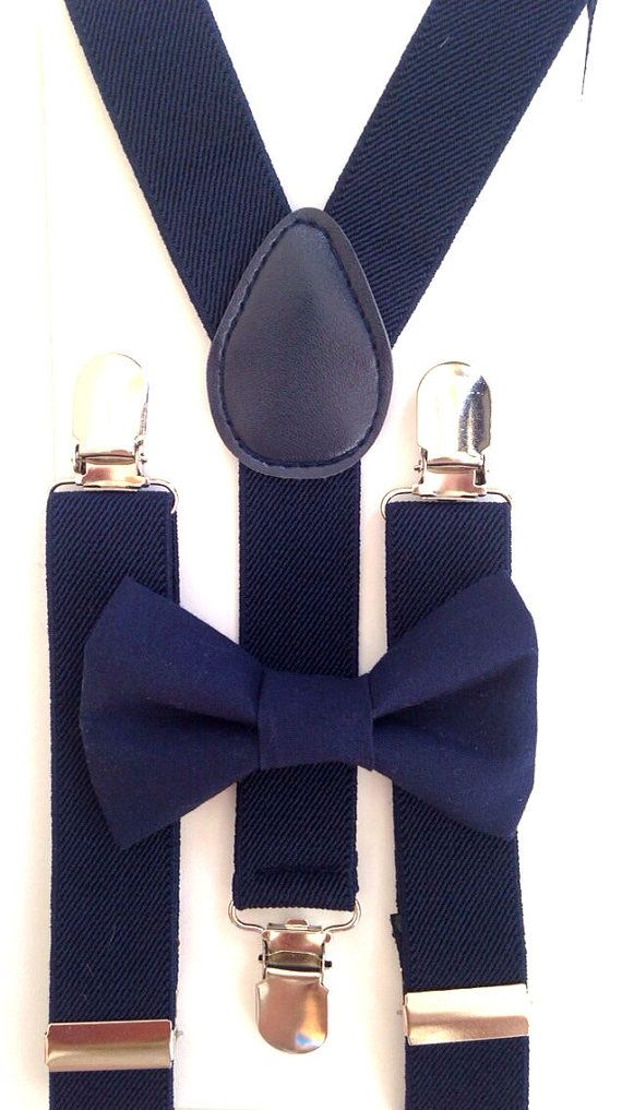 Hey, I found this really awesome Etsy listing at https://www.etsy.com/listing/199208776/navy-blue-suspenders-navy-blue-bow-tie