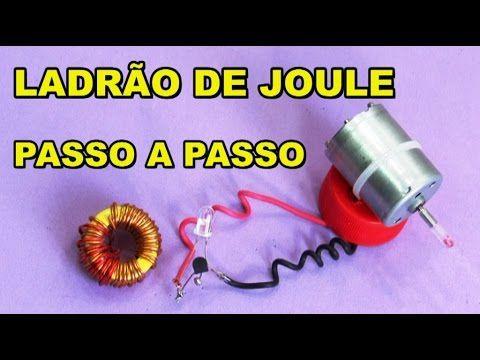 GERADOR EÓLICO COM LADRÃO DE JOULE PASSO A PASSO - YouTube