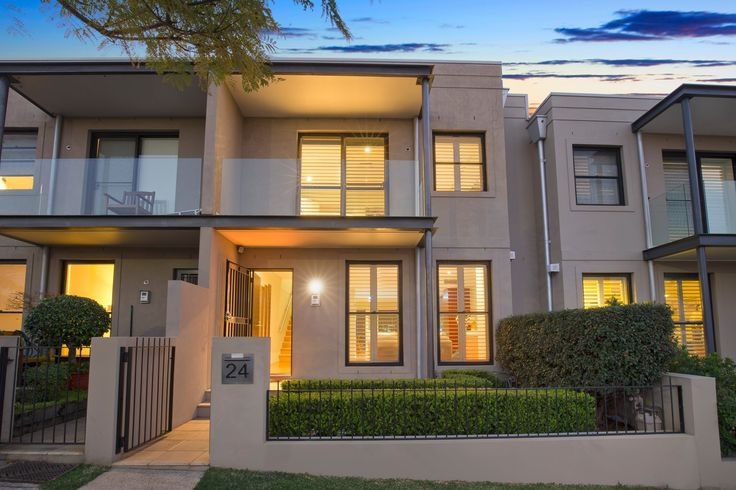 Contemporary Torrens Title Terrace with City and Bridge Views - 24 Lonsdale Street Lilyfield at Pilcher Residential